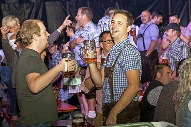 Rothaus feiert ganz zünftig sein Oktoberfest