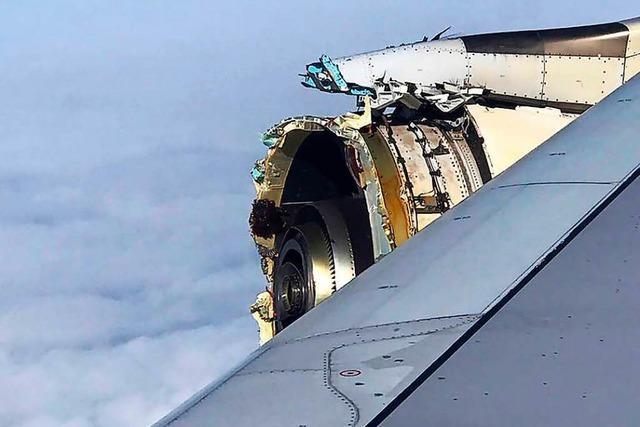 Triebwerk explodiert – A 380 muss notlanden