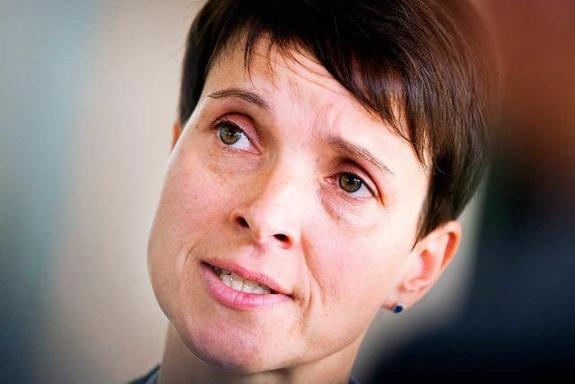 Frauke Petry will neue Partei gründen – Name geheim