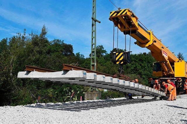 Rheintalbahn: Auf die Bahn kommt noch viel Ärger zu