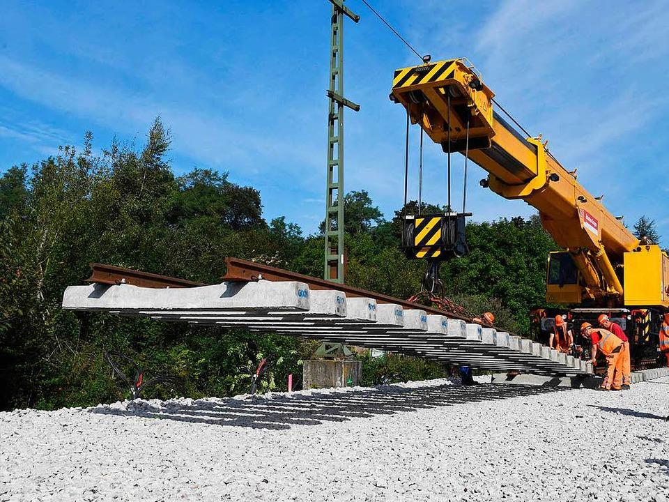 Wie geht es mit der Tunnelbaustelle weiter?  | Foto: dpa