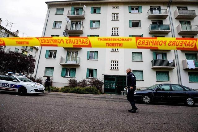 Vier Kinder und ein Erwachsener sterben bei Brand in Mulhouse