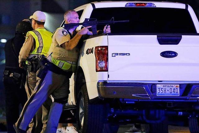 Bei blutigem Attentat in Las Vegas sterben mindestens 59 Menschen und 520 werden verletzt