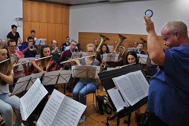 Heiße Probenphase fürs Zeller Chilbi-Konzert