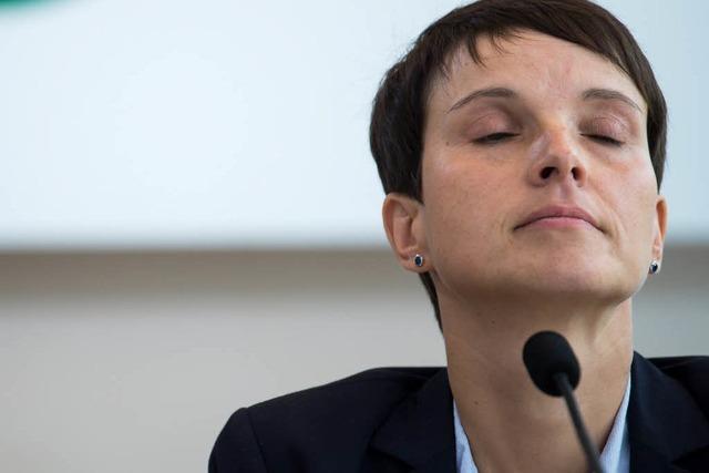 Frauke Petry hat ihre Wähler hinters Licht geführt
