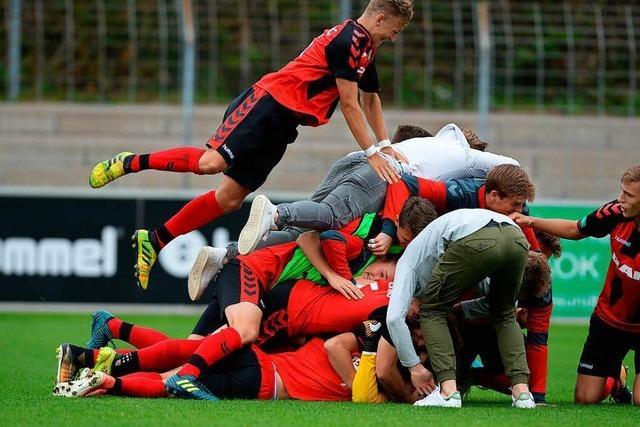 A-Junioren des SC stehen im Viertelfinale des DFB-Pokals