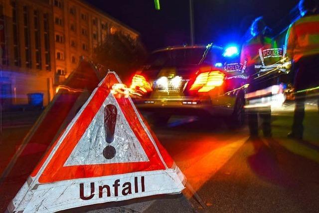 Zwei Schwerverletzte bei Verkehrsunfall auf der Basler Straße