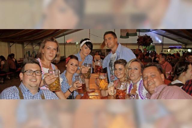 Wenn Badener zünftig wie die Bayern feiern