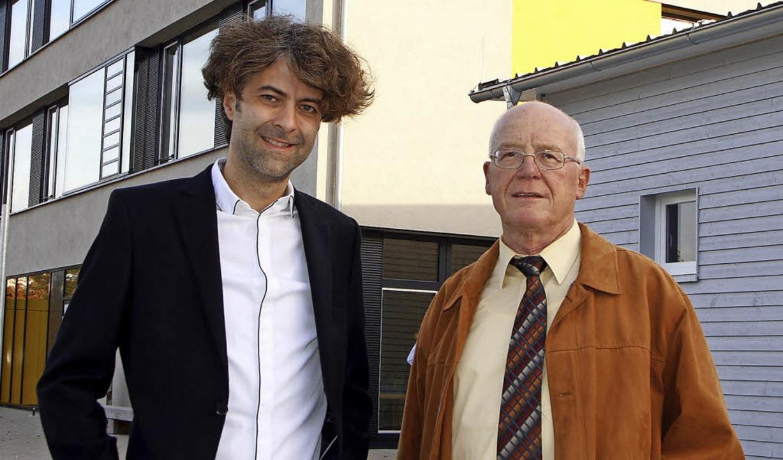 In den Ruhestand ist Gerhard Hiller ve...st  sein Nachfolger Friedhelm Matter.   | Foto: Heidi Fössel