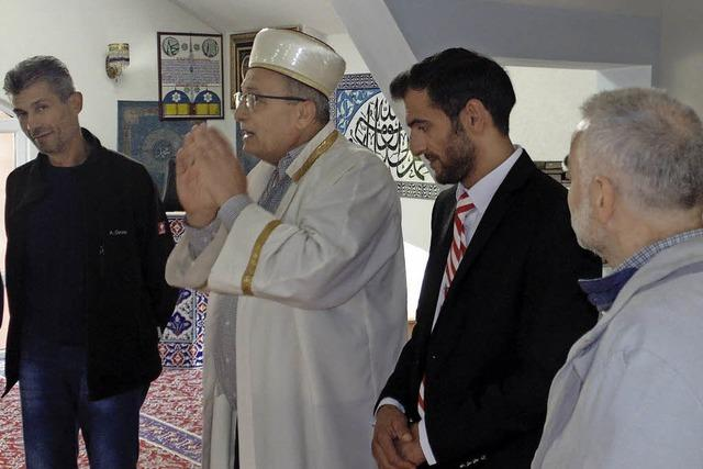 Recht geringes Interesse an offener Moschee