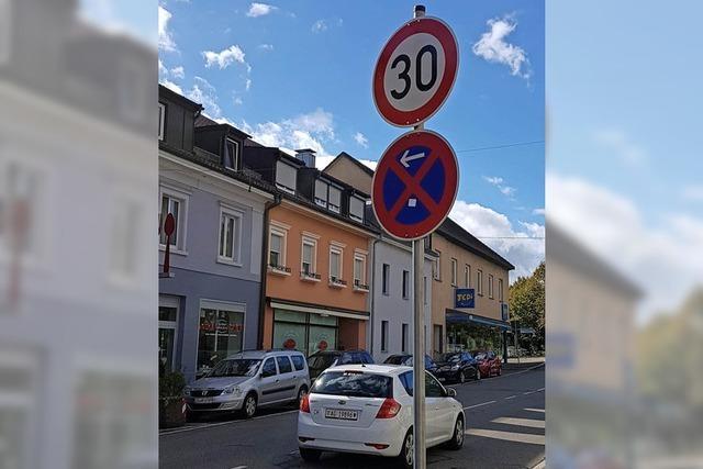 Tempo 30 auf der Schulhausstraße