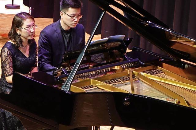 Konzert wartet mit Piano-Profis auf