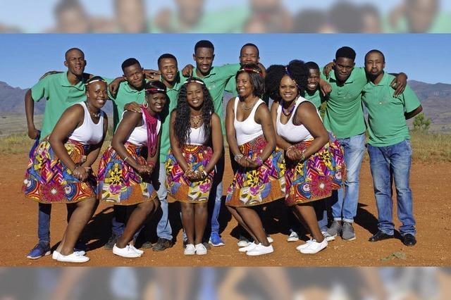 Lesedi Show Choir in Sulzburg