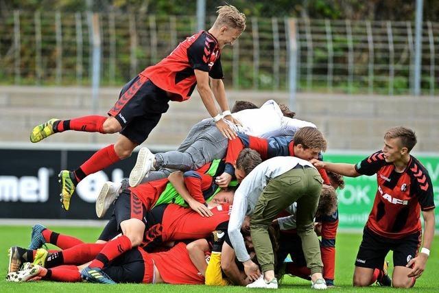 A-Junioren im Viertelfinale