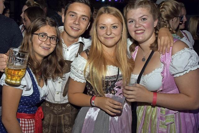 Party mit Bayern-Gefühl