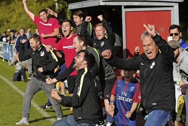 SV Oberschopfheim erreicht Achtelfinale des Südbadischen Vereinspokals