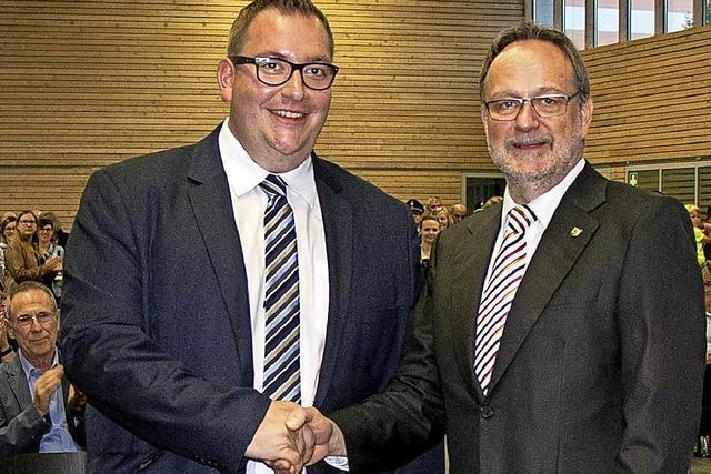 Fabian Prause ist neuer Bürgermeister