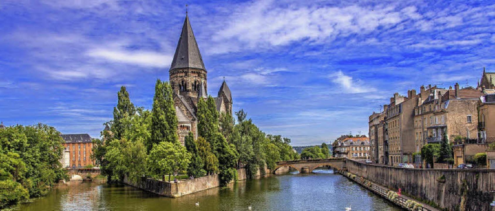Metz – reich an kunsthistorischen Schätzen     Foto: pictarena fotolia