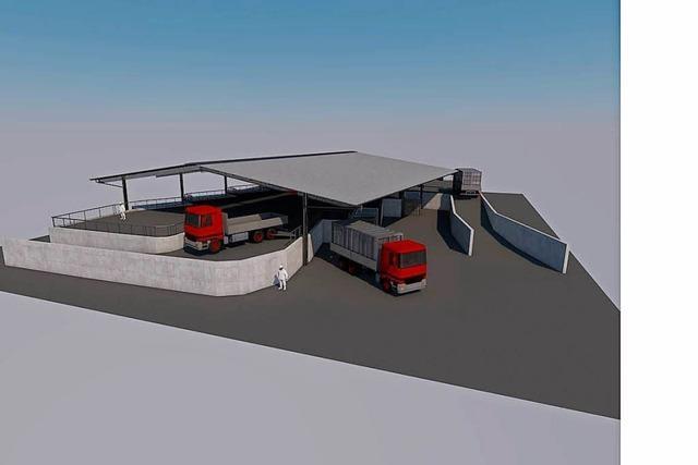 Herten: Recyclinghof wird erst 2018 fertig