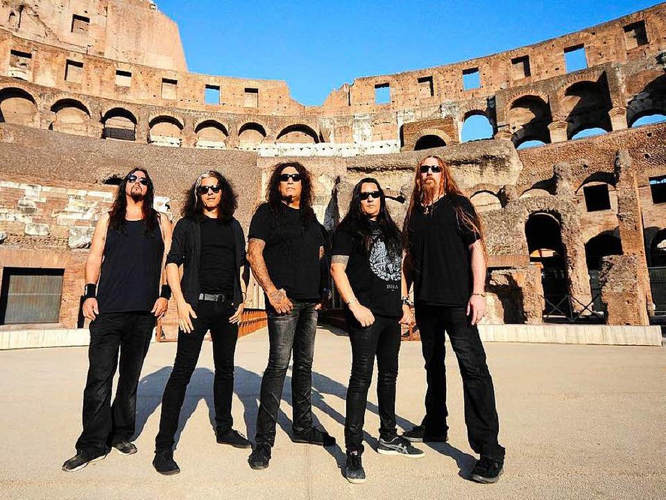 Die Thrash-Metal-Legenden von Testamen...ket.de und in den BZ-Geschäftsstellen.  | Foto: promo