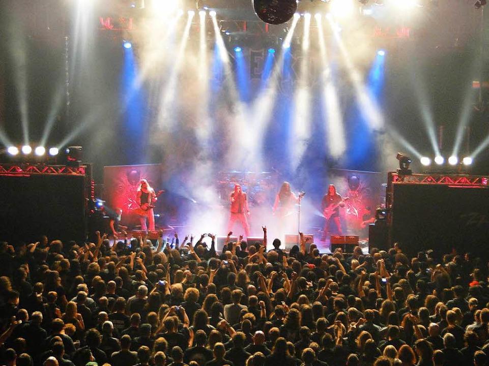 Die Konzertfabrik Z7 in Pratteln biete...ardrock und Heavy Metal auf der Bühne.  | Foto: Promo