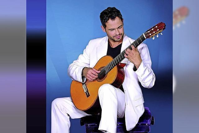 Gitarrist Christian Reichert spielt Werke südamerikanischer Komponisten im Weiler Kesselhaus