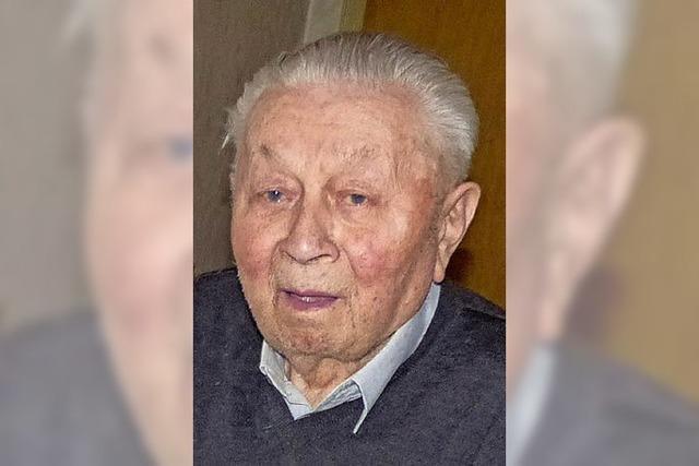Mit 99 Jahren der Dorfälteste