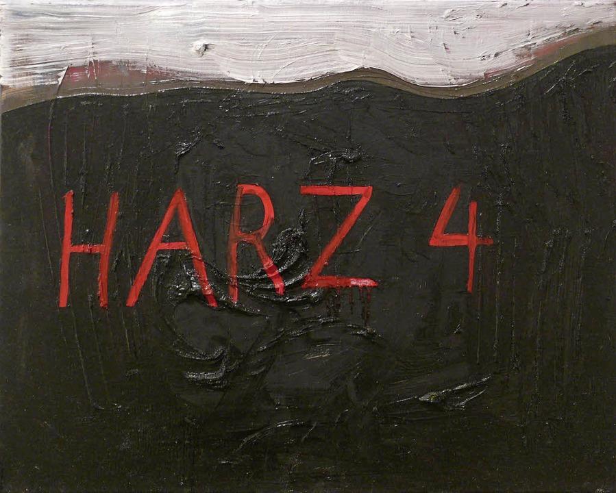 Matti Schulz: Harz 4  | Foto: Galerie