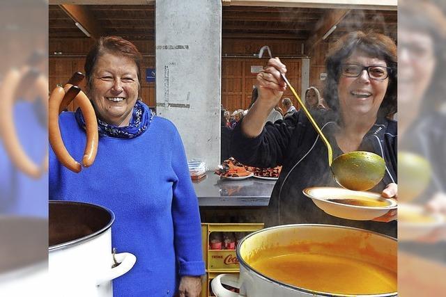 Suppe geht weg wie nix