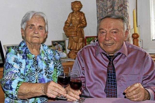 1957 läuteten die Hochzeitsglocken