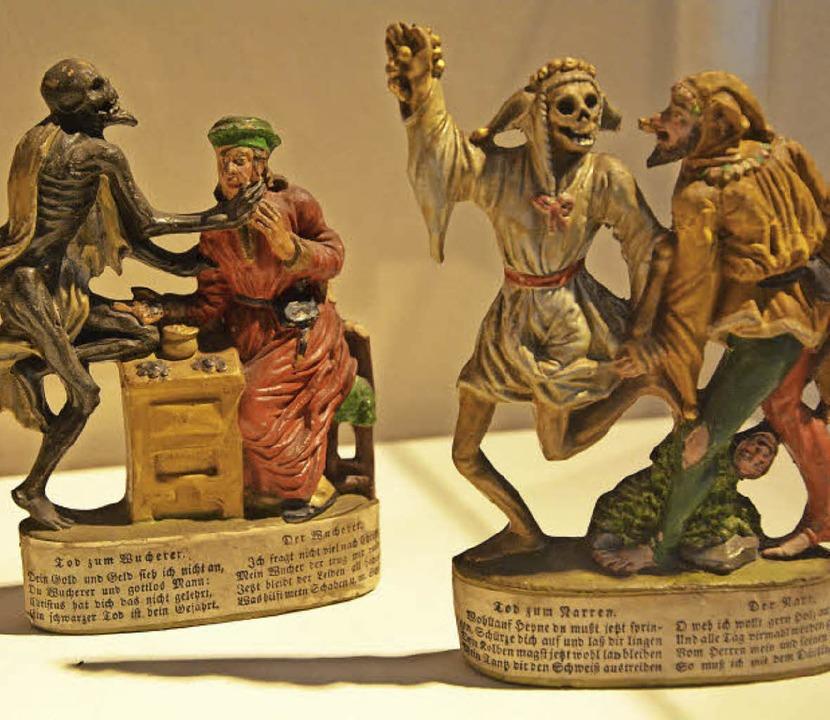 ...Miniaturen zum Totentanz.  | Foto: Barbara Ruda