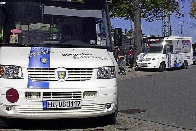 Bürgerliste Zell-Weierbach sieht den Bürgerbus Rebland vor dem Aus