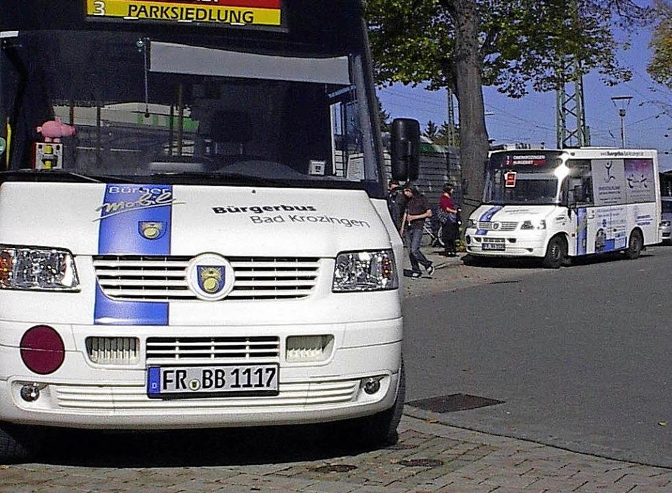 Anderswo – wie hier in Bad Krozi...– kommt der Bürgerbus in Fahrt.   | Foto: Privat