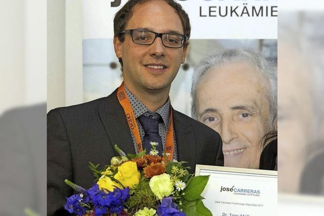Stipendium der Carreras-Stiftung