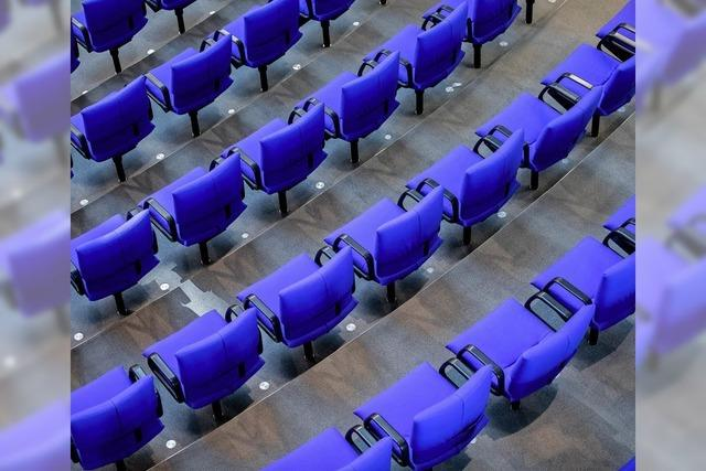 Der neue Bundestag formiert sich