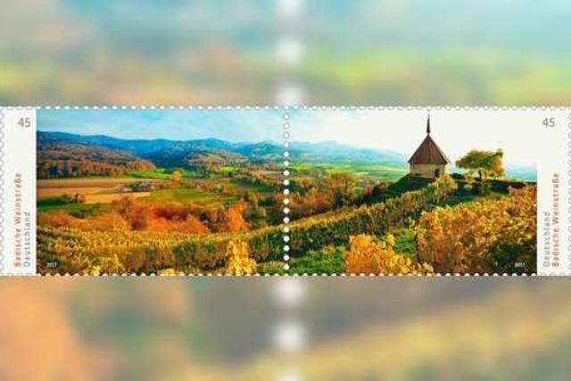 Das Markgräflerland bekommt eine eigene Briefmarke