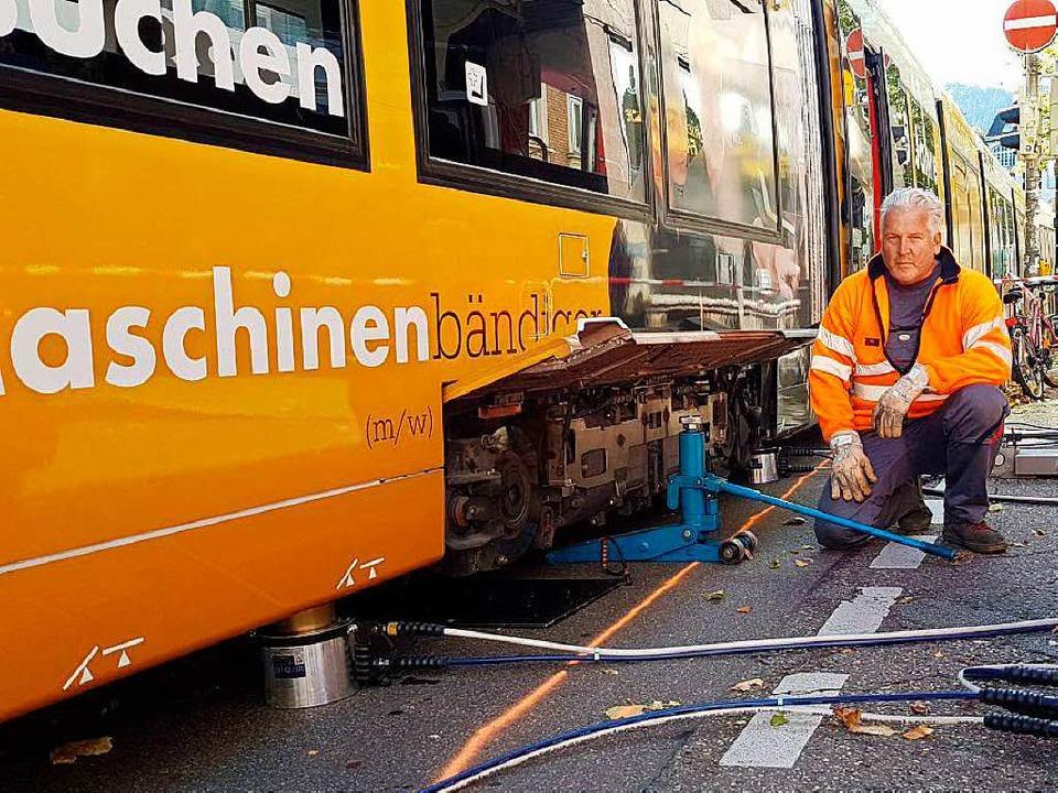 Die Unfallstelle der Linie 1  | Foto: Kamera24.tv