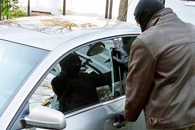 Diebstähle aus Autos in Grenzach-Wyhlen