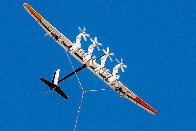 Fliegende Windräder sollen Strombranche revolutionieren