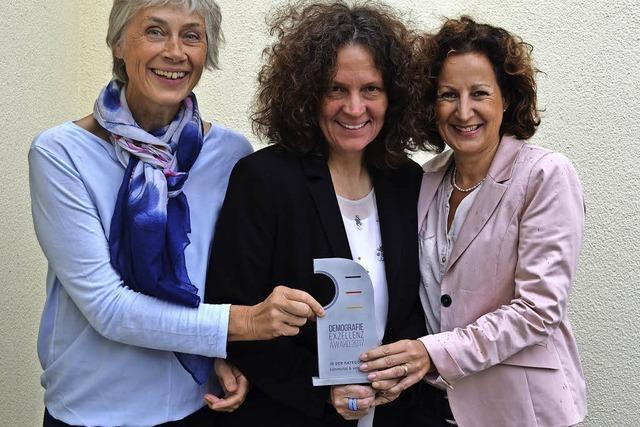 Das aus acht Unternehmen bestehende Breisgauer Netzwerk bekommt den Demografie Exzellenz Award