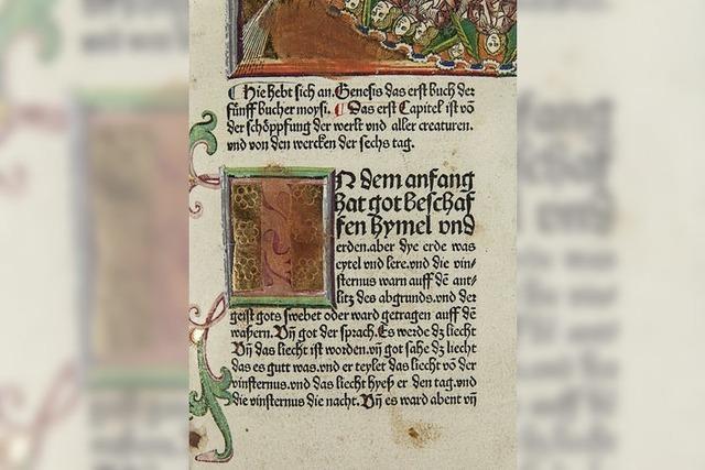 Mittelalterliche deutsche Bibelübersetzungen in Emmendingen