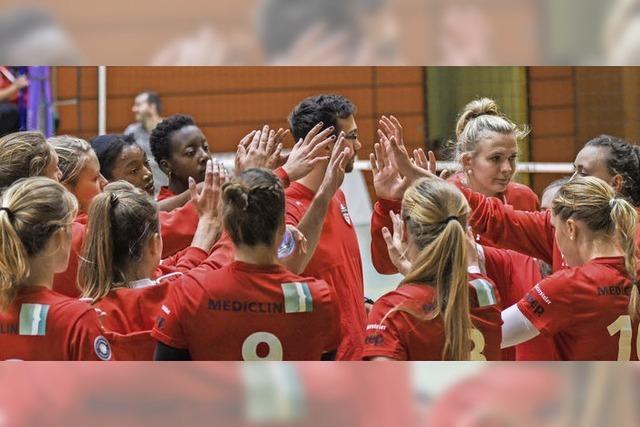 Heimspiel im Volleyball-Pokal-Achtelfinale winkt als Lohn