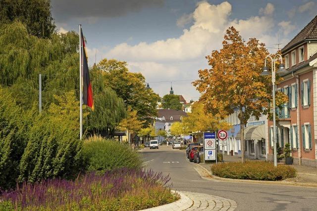 Herbstlicher Blick in die Josefstraße