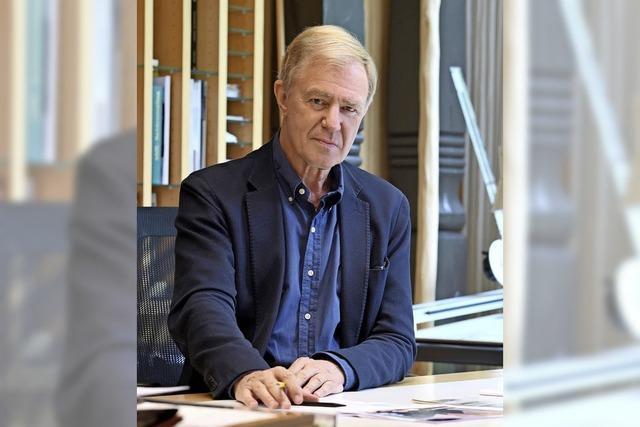 Architekt Carl Langenbach die Werkgruppe Lahr in jüngere Hände übergeben