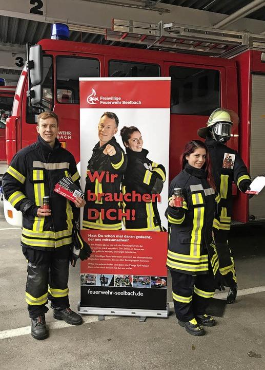 Die Feuerwehr Seelbach startet einen Aktionsmonat, um Mitglieder zu gewinnen.  | Foto: Feuerwehr Seelbach