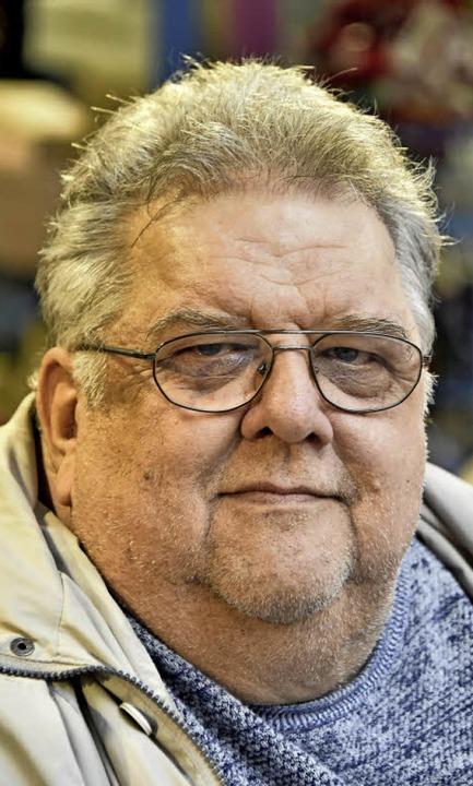 "Bernd Lukaczewski (64), Industriekaufm... alles oberflächliche Kontakte.""  | Foto: Michael Bamberger"