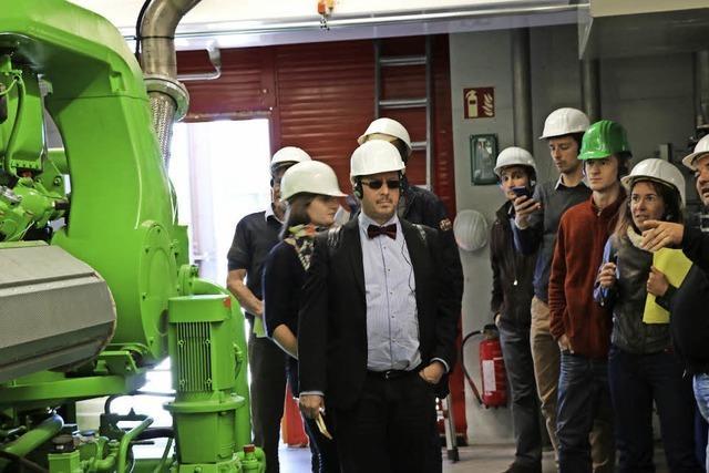 Vorzeigeprojekt in Energiefragen