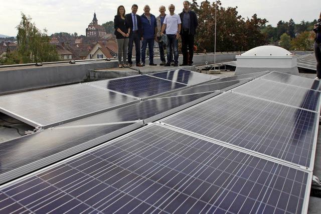 Größte Solaranlage der Bürgerenergie am Netz