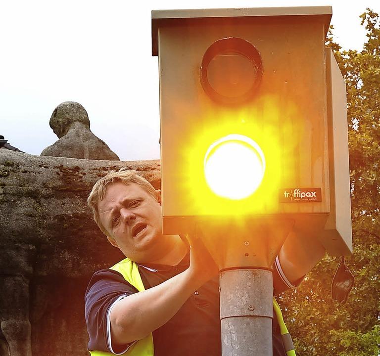 Autofahrer im Wiesental müssen sich auf mehr Überwachung einstellen .    Foto: Ingo schneider