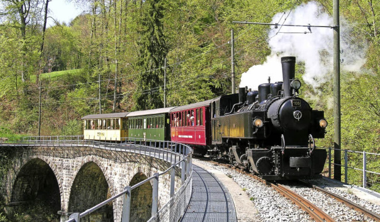 Lokomotive Todtnauerli Blonay-Chamby  | Foto: Sebastien Jarne